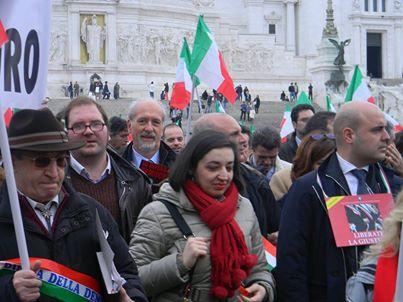 L'avv. Romolo Reboa alla manifestazione nazionale indetta dall'Avvocatura a difesa della giustizia