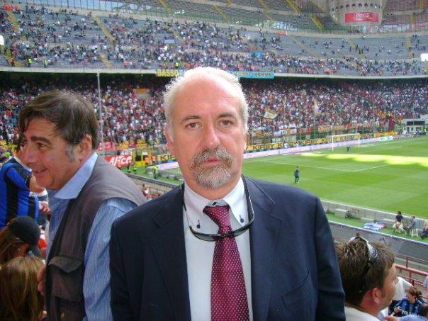 L'avv. Romolo Reboa alla finale di Coppa Italia