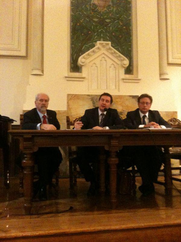 L'avv. Romolo Reboa relatore al convegno sull'istituzione del Tribunale delle imprese