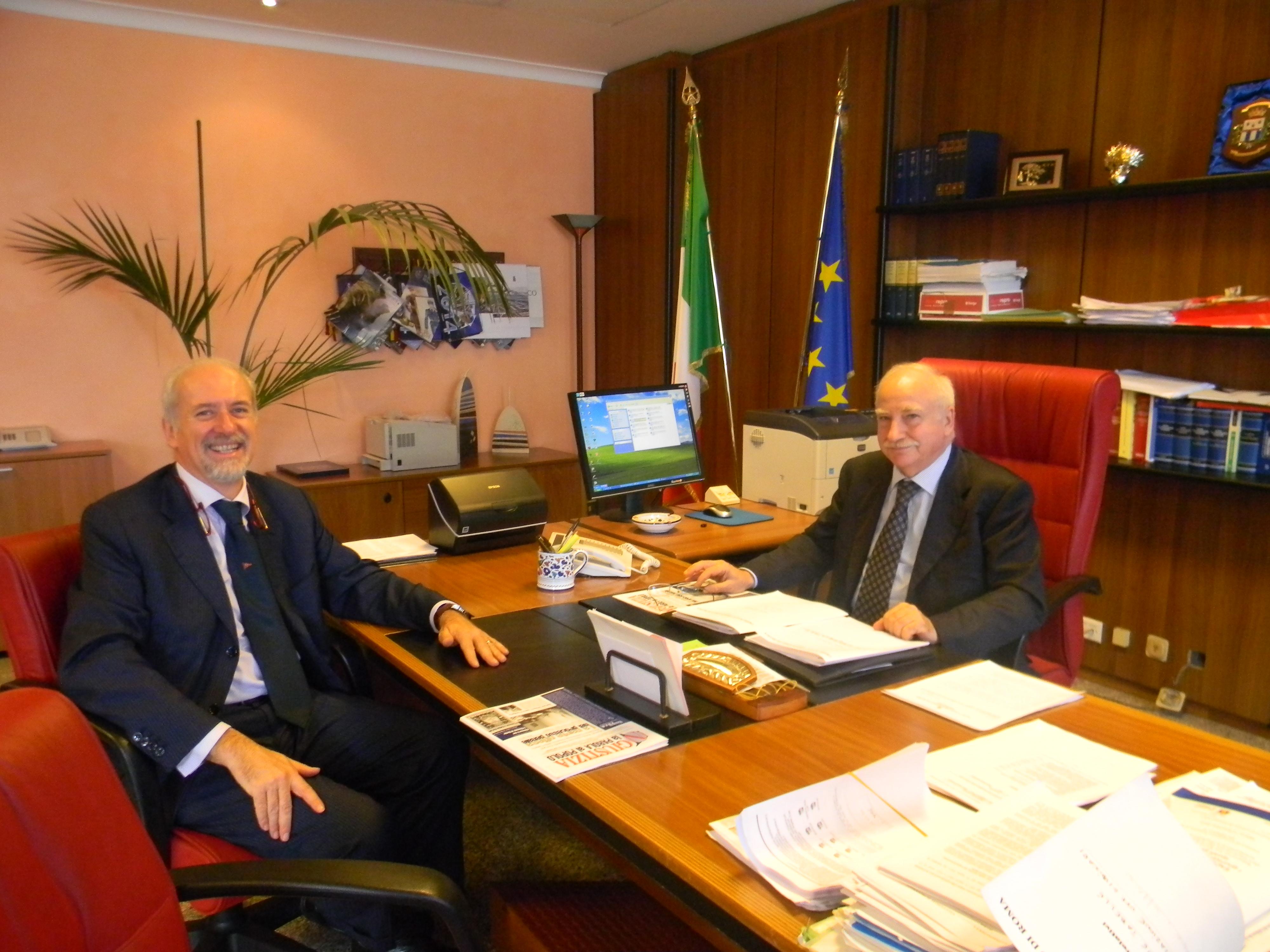 L'avv. Romolo Reboa intervista il Dott. Bresciano, presidente del Tribunale di Roma