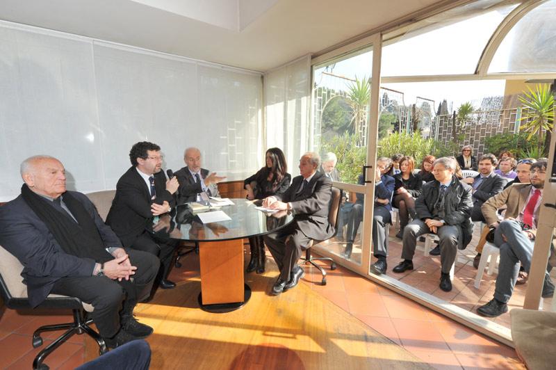 Un momento del convegno sulla giustizia ed il carcere organizzato dall'avv. Romolo Reboa